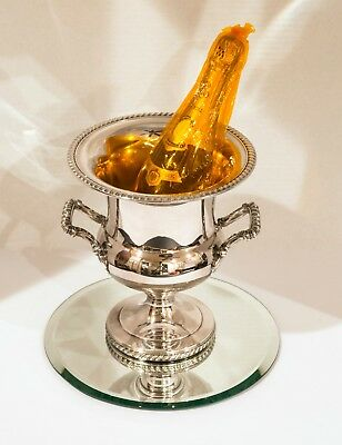 Wm.ROGERS Silverplate Champagne-Cooler/Urn/Ice-Bucket * 50 years old * LOVELY!