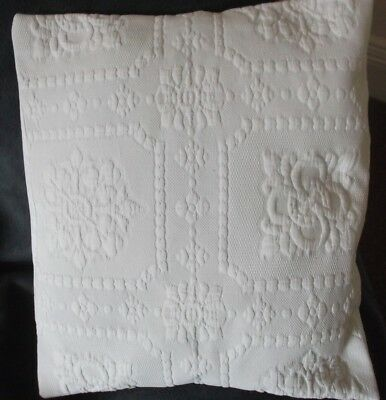 Antique Vintage Victorian  Marcella Fabric Cushion