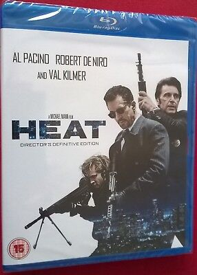 HEAT BLU RAY 2 Disc Definitive Edition Robert De Niro Al Pacino NEW SEALED