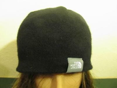 The North Face Fleece-Lined Knit Wool Beanie Women s One Size GC 5f10776112bb