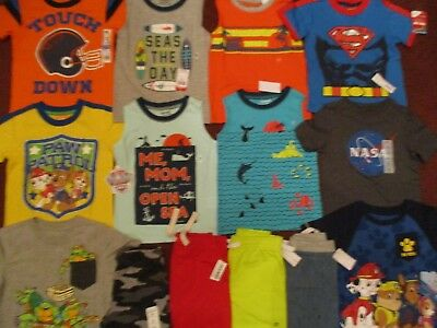 NWT Toddler Boys Size 3T Spring & Summer Lot of Clothes Outfits NEW!!