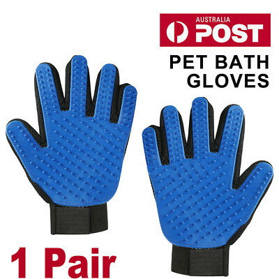 Pet Dog Cat Massage Hair Removal Grooming Comb Touch Cleaning Brush Magic Glove