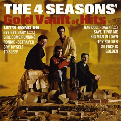 Frankie Valli and The Four Seasons - Gold Vault Of Hits CD Rhino NEW