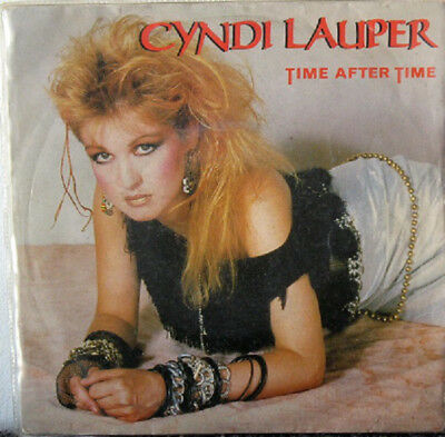 Cyndi Lauper ‎– Time After Time - 45 RPM