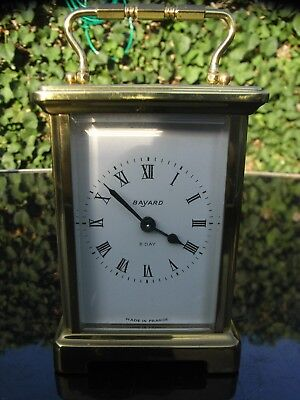 Bayard French Brass Cased Carriage Clock