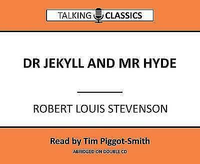 Dr Jekyll and Mr Hyde (Talking Classics) by Stevenson, Robert Louis, NEW Book, F