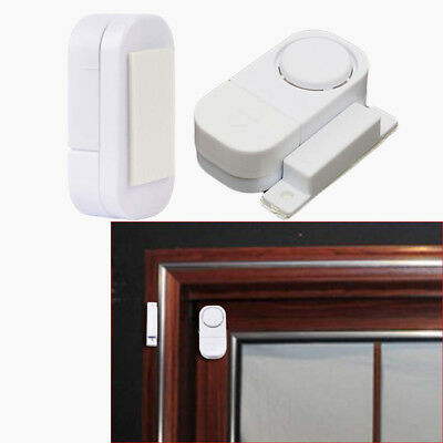 Guard Hotel Magnetic Sensor Self-adhesive Warning Alert Door Window Entry Alarm