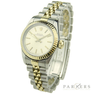 2dc8d9fd544 Rolex Lady Oyster Perpetual Steel & Gold Automatic Wristwatch 67193