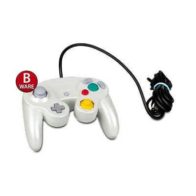 ORIGINAL GAMECUBE CONTROLLER PEARL WHITE - WEISS (B-Ware) #30s
