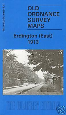 Old Ordnance Survey Map Erdington (East) 1913
