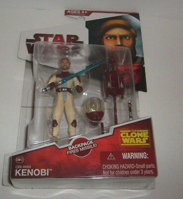 Star Wars Clone Wars Obi Wan Space Suit Cw12 Animated Legacy Figure New Mosc
