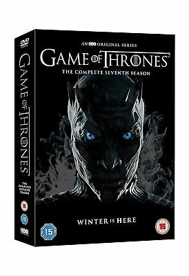Game Of Thrones Season 7 Complete Dvd Box Set Region 2 - Brand New + Free Post