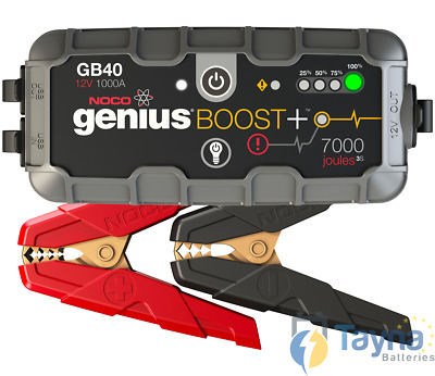 NOCO GB40 Boost 1000A UltraSafe Lithium Jump Starter