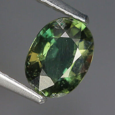 Cute 1.02 Ct Natural Unheated Greenish Yellow KORNERUPINE Oval Gem @ See Vide!