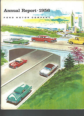 Ford Motor Company 1956 Annual Report