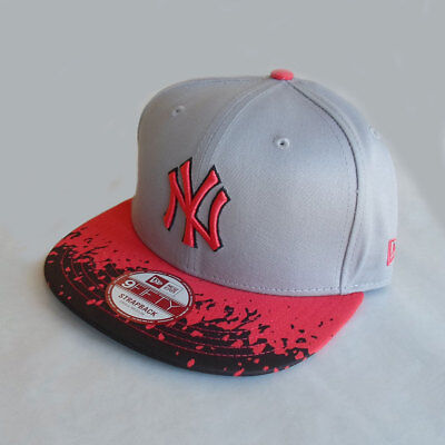 New York Yankees Licenced MLB New Era Strapback 9FIFTY 'Lava' Cap