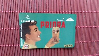 Private Phonecard  Belgium Bear Priora 604 L (Mint,Neuve) Rare