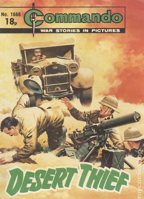 Commando War Stories in Pictures (D. C. Thomson Digest) #1666 1982 VG Low Grade