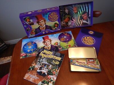 Willy Wonka and the Chocolate Factory 40th: Blu-Ray DVD Box Set 2011: Box Open