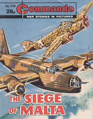 Commando War Stories in Pictures (D. C. Thomson Digest) #2100 1987 VG Low Grade