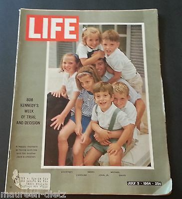 July 3, 1964 LIFE Magazine Robert KENNEDY 60s advertising ads ad FREE SHIPPING 7