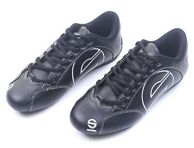 Go Kart Sparco Work Shoes Black Size 38 (5.5) Grade A