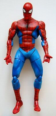 Large Classic Spider-Man Doll Toy Action Figure Toy Biz 2005 Marvel Comic Hero
