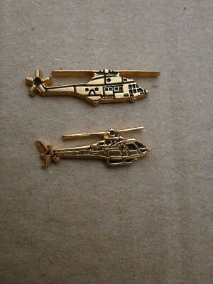 PINS HELICOPTERE PUMA ET GAZELLE  LOT 2 PINS armee francaise alat
