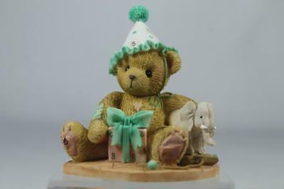 Cherished Teddies 'Eighth Birthdays' Are Trunks Of Fun! #4020579 New In Box