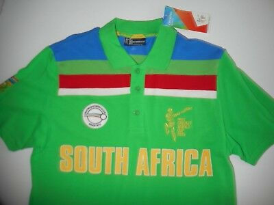 Vintage Replica South Africa Cricket Shirt Mens Large