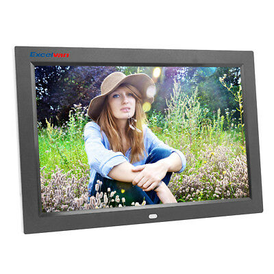 Excelvan12'' Digital Photo Frame With High Resolution, USB 2.0, Remote Control