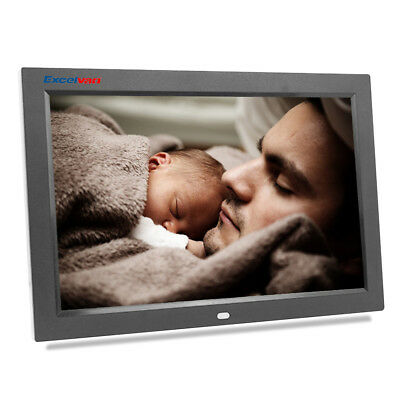 Excelvan12Inch Digital Photo Frame With High Resolution, USB 2.0, Remote Control