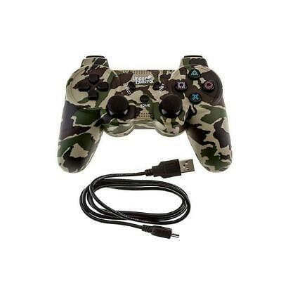 Manette bluetooth PS3 - Camouflage