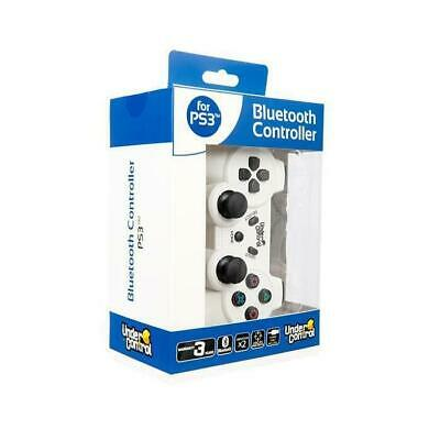 Manette bluetooth PS3 - Blanche