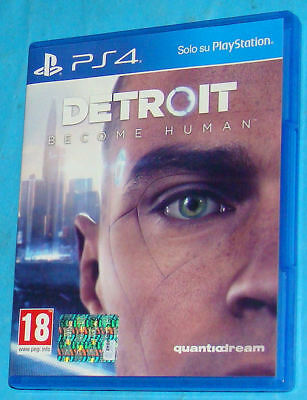 Detroit - Become Human - Sony Playstation 4 PS4 - PAL