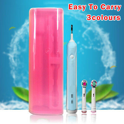 Portable Electric Toothbrush Travel Holder Safe Storage Case Box For Oral-B
