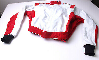 Karting Cordura Chariot Combinaison Pilote Rouge Taille S Grade A
