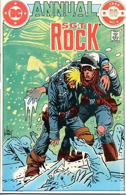 Sgt. Rock Annual #4 1984 VG Stock Image Low Grade