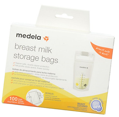 Medela, Breast Milk Storage Bags, Ready to Use, Milk Storage Bags for 68062
