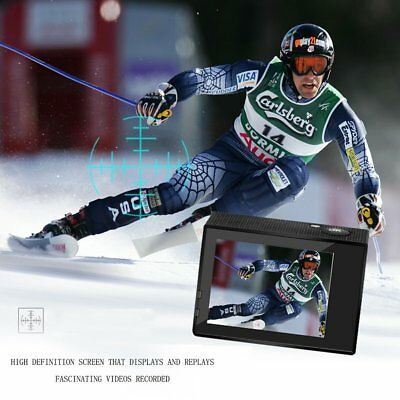 2.0'' HD 12MP 1080P DV Video Acción Cámara Deportiva SDHC USB 30m Impermeable AE