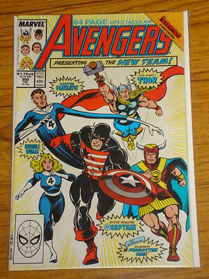 Avengers #300 Vol1 Marvel Comics Gs Anniversary February 1989