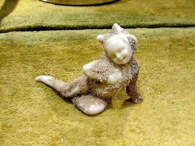 excavated vintage funny snow baby doll Hertwig & Co age 1890 Germany Art 12201