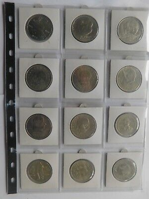 DDR 5 x 10 Mark 1973-1985 + 7 x 20 Mark 1971-1983 Lot 12 Gedenkmünzen