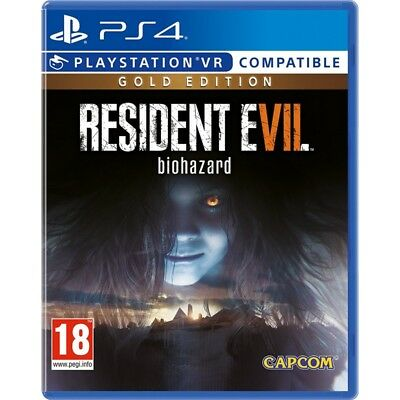 Resident Evil 7 Gold Edition     playstation 4   PS4   EU