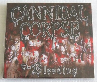 Cannibal Corpse The Bleeding Cd Made In Brazil 2016 Limited Only 1000 Copies