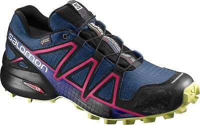 SALOMON WOMENS SPEEDCROSS 4 Gtx Barbados Cherry Running Shoes Size ... 1a2525f1a71