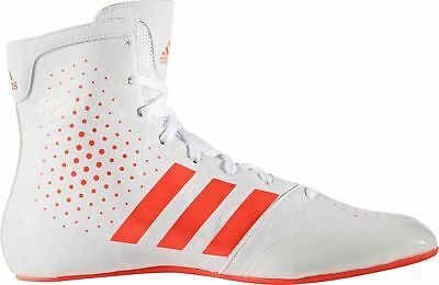 adidas KO Legend 16.2 Unisex Boxing Shoes White Mens Womens Boxing Boots
