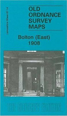 Old Ordnance Survey Map Bolton (East) 1908