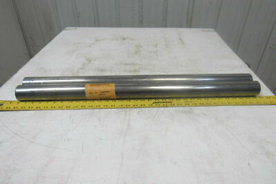 """Dematic 2-3/16"""" OD x 33-5/8"""" BF Conveyor Roller 3/4"""" Bearing Bore Lot Of 2"""