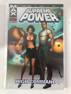 Supreme Power: High Command by J. Michael Straczynski Max Comics Marvel